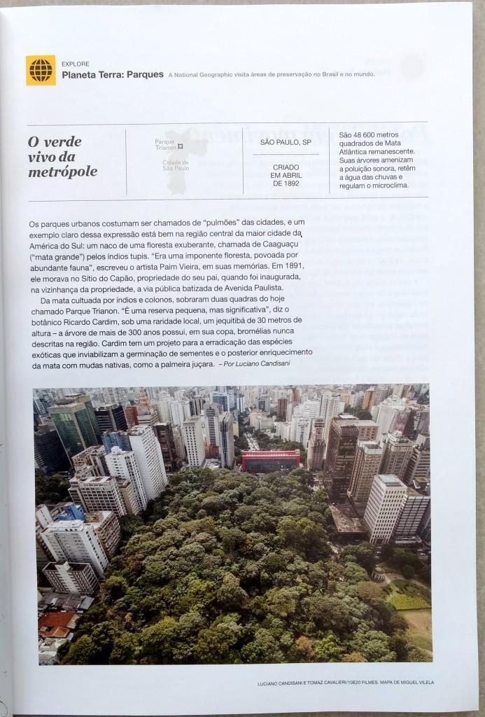 Reprodução: Revista National Geographic Brasil